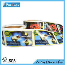 Terrific custom printing top grade honey private label