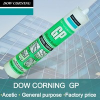 Dow corning GP acetic silicone sealant used in general sealing and glazing applications