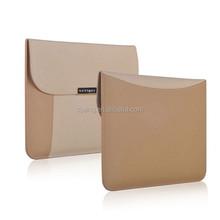 Soft envelope laptop tablet leather case,leather laptop bag,leather laptop for tablet