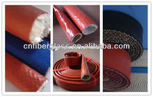 Silicone rubber fiberglass cable sleeving