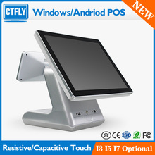 Dual Screen Touch Pos All in one Touch Pos Terminal for Restaurant Pos System Cash Register