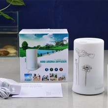 Mini Ultrasonic Aroma Diffuser Air Humidifier Purifier LED Night Lamp