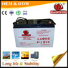 solar PV system gel mf battery 12v 100ah deep cycle battery BPG12-100