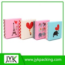 Newly designed premium popular scarves paper packagings boxes