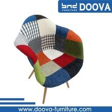 hot vente chaises avec bras fauteuil patchwork