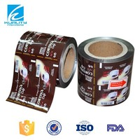 Soft packaging opaque instant coffee food packaging plastic film