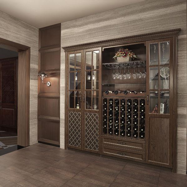 2014 nuevo dise o baratos antiguos de madera del vino vitrina de vidrio armarios de madera - Armarios antiguos baratos ...