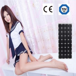 cheap solar panel mono 100W price