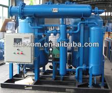 1500 Nm3/h Unidad de Deshidratación de Gas Natural para Estaciones de GNC