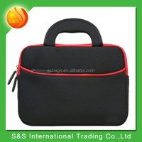 Neoprene EVA Zipper Laptop Carrying Bag with Accessory Pocket for 14-15 Inch Laptops and Ultrabooks such as MacBook Pro