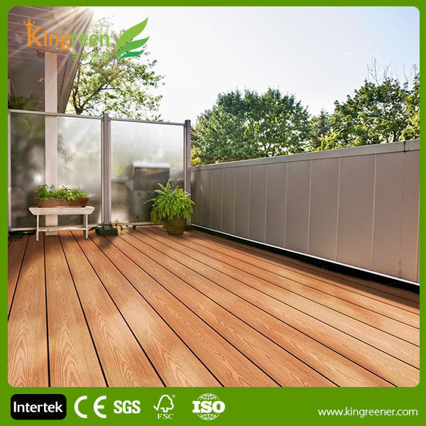 Cheap Non Slip Composite Decking Boardsrecycled Waterproof Wood