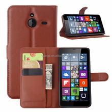 For Microsoft Lumia 640 XL case, wallet pu leather flip cover for microsoft lumia 640 640xl protective case