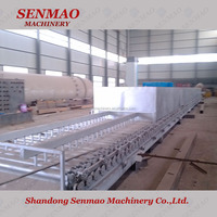wood veneer roller dryer/core veneer dryer machine/Indonesia plywood plant dryer