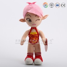China manufacturer custom famous brand super sexy plush doll