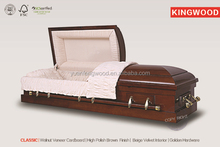 CLASSIC Cardboard knock down wholesal china good casket