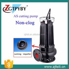 centrifugal impeller AS cutting sewage pump water motor pump