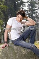 high quality men's denim jeans pants