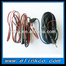 connecting cable for car rearview mirror electronic wire 6.5mm to RCA single cable