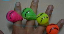 tennis base ball rugby plastic led flash light finger rings