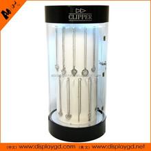 glass display supermarket jewelry indoor/outdoor cabinet case for shop