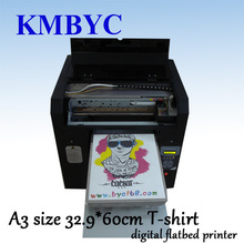 Flatbed digital t shirt printer, t shirt printing machine with professional design