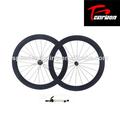 50mm ruedas de carbono tubular, la bicicleta de carbono ruedas, carretera de carbono ruedas 20/24 agujeros