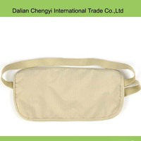 Factory price manual qualified multifunctional canvas sport waist bag