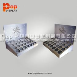 hot style high quality spray paint mdf small counter display box