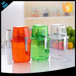 Small Delicacy Hand Crushed Ice Machine juicer fruit chopper