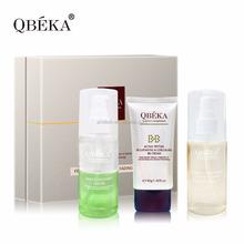 Multi- protezione funzionale cura della pelle qbeka fermento polipeptide dissolvenza siero set kit ripristino pelle siero