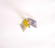 fashion cheap country flag lapel pin with epoxy