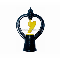 "1/2"" impulse female yellow garden water sprinkler head"