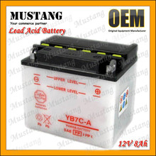 12V 4Ah Motorcycel Lead Acid Battery Fast Charging and Long Service Time for Motorcycles ATVs Moped AND Scooters