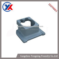China manufacture grey iron & ductile iron cast support casting for mining machinery