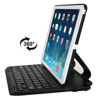 Rotating Removable Bluetooth 3.0 Keyboard for iPad Air