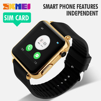 2015 factory wholesale price gold color best watch mobile phone
