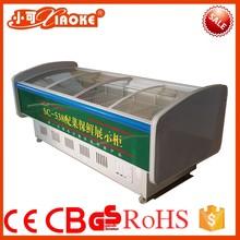 SC-538 Hot sale top open display fridge retail counter freezer