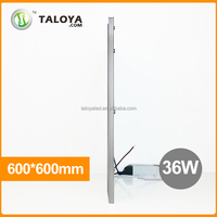 ultra-thin 6000k led panel light 60x60cm, stage light led panel 36w