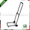 New Pooyo powder coating luggage trolley parts for airport 4C