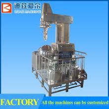 Temperature control food emulsifying and homogenizer plant machine