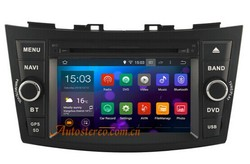 Autostereo Android Car Radio Car Audio System for Swift Car DVD Player Central Multimedia Satnav BT PIP Ipod CD Player