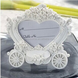 newest Carriage Design wedding favors party place card holder