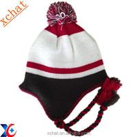 2015 hotsale knitted handmake braid fancy winter hats