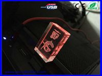 Hot new product for 2015 bulk items buy from China1gb~64gb crystal usb flash drive