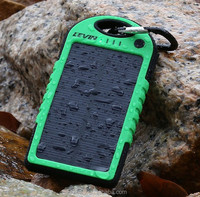 Shenzhen supplier Recommendation Waterproof solar power bank 5000 in power banks