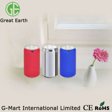 GMS-1.5LK 1.5 Liter stainless steel recycling trash can, touchless stainless steel desk-on waste bins
