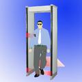 detector de metales , puerta escáner de seguridad , detector de metales tipo de compuerta
