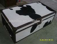 Dairy cow pattern floor cabinet,living room storage chest(B260196)