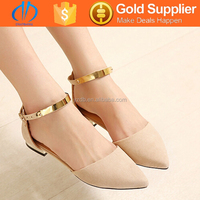 company private label ladies wholesale china flat shoes