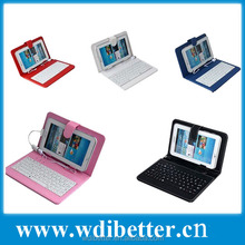 9.7 Tablet Keyboard Case For Android Tablet PC Micro USB/Normal USB/Mini USB